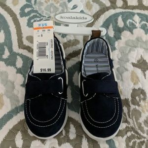 Navy shoes- nautical loafer